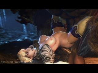 Порно девушка минотавр